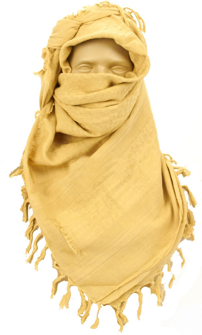 Brand New British Army Issue Desert Tan Hot Weather Reusable Neck Cooler Scarf